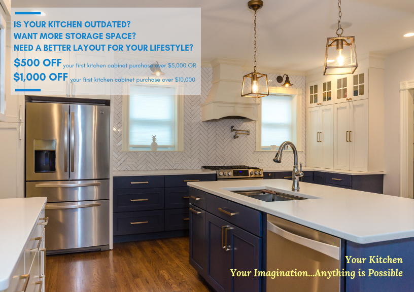 IS YOUR KITCHEN OUTDATED?