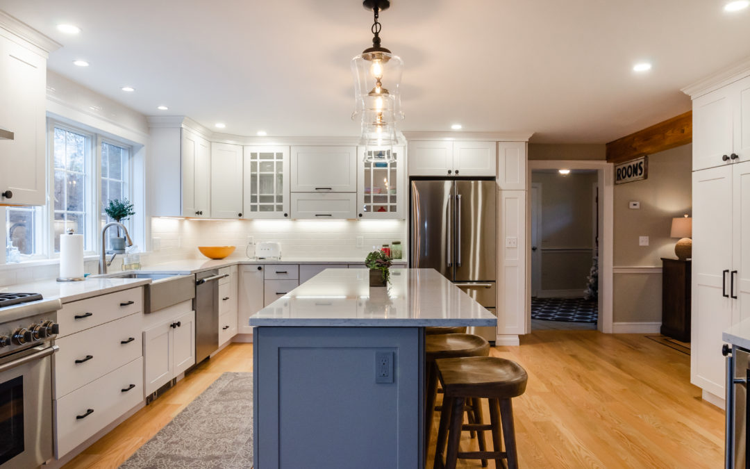 Your Kitchen Island Does Not Have to Match Your Cabinets